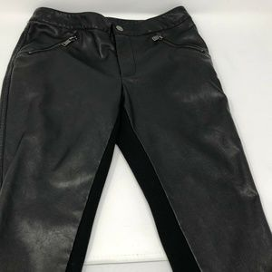 Forever 21 faux leather pants womens/juniors sz S
